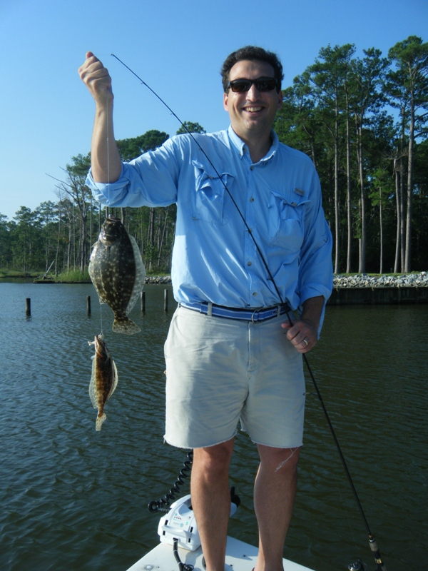 Kevin Mclaughlin From Raleigh With Two Pamlico River